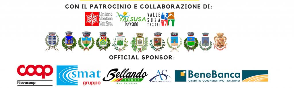 banner patrocinio e sposor Via Francigena Marathon Val di Susa 2021